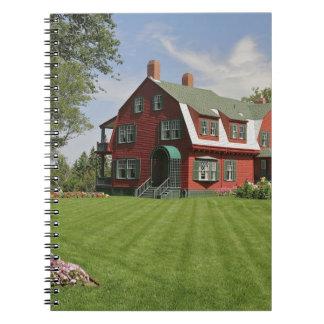 Canada, New Brunswick, Campobello Island. Spiral Notebook