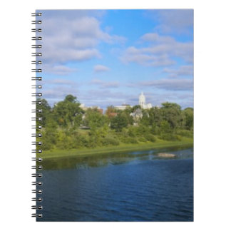Canada, New Brunswick, Fredericton, City view Notebooks