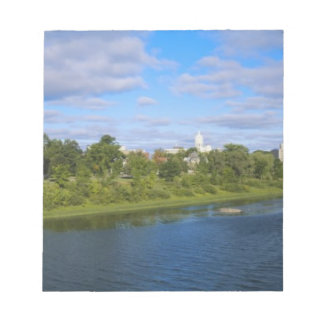 Canada, New Brunswick, Fredericton, City view Notepad