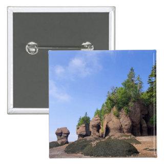 Canada, New Brunswick, Hopewell Cape, Bay of 15 Cm Square Badge