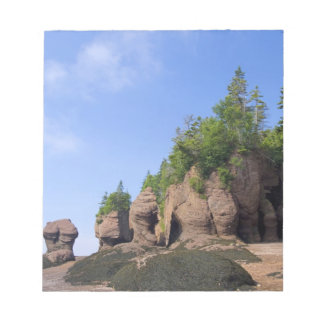 Canada, New Brunswick, Hopewell Cape, Bay of Notepads