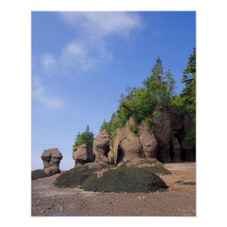 Canada, New Brunswick, Hopewell Cape, Bay of Poster