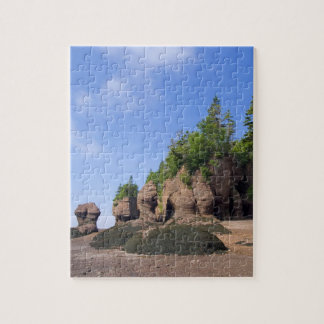 Canada, New Brunswick, Hopewell Cape, Bay of Puzzles