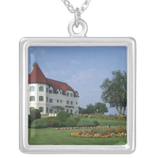 Canada, New Brunswick, St Andrews. The Fairmont Silver Plated Necklace