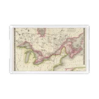 Canada, New Brusnwick, and Nova Scotia Acrylic Tray