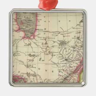 Canada, New Brusnwick, and Nova Scotia Christmas Ornament
