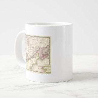 Canada, New Brusnwick, and Nova Scotia Large Coffee Mug