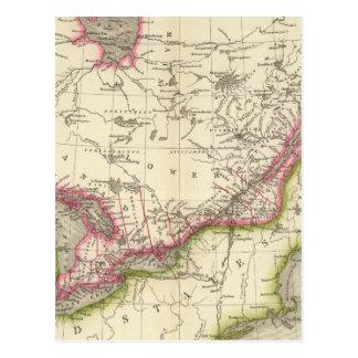 Canada, New Brusnwick, and Nova Scotia Postcard