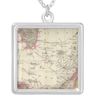 Canada, New Brusnwick, and Nova Scotia Silver Plated Necklace