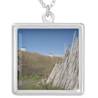 Canada, Newfoundland and Labrador, L'Anse Aux 2 Silver Plated Necklace
