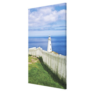 Canada, Newfoundland, Cape Spear National 2 Stretched Canvas Print