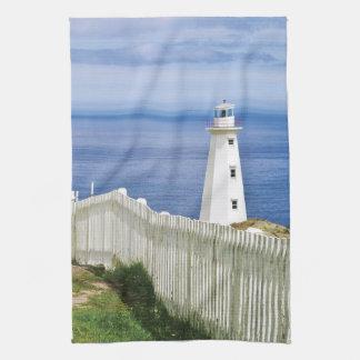 Canada, Newfoundland, Cape Spear National 2 Tea Towel