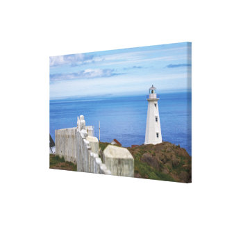 Canada, Newfoundland, Cape Spear National 3 Gallery Wrapped Canvas