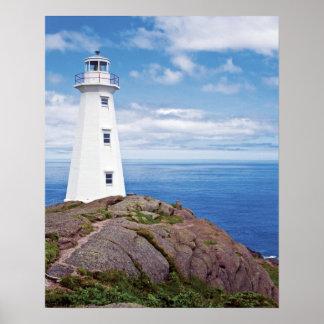 Canada, Newfoundland, Cape Spear National Poster