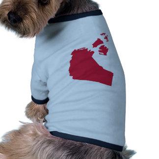 Canada - Northwest Territories Pet Tshirt