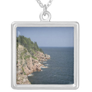 Canada, Nova Scotia, Cape Breton Island, Cabot 2 Silver Plated Necklace
