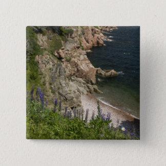 Canada, Nova Scotia, Cape Breton Island, Cabot 3 15 Cm Square Badge