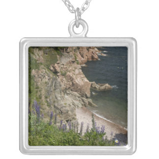 Canada, Nova Scotia, Cape Breton Island, Cabot 3 Silver Plated Necklace