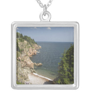 Canada, Nova Scotia, Cape Breton Island, Cabot Silver Plated Necklace