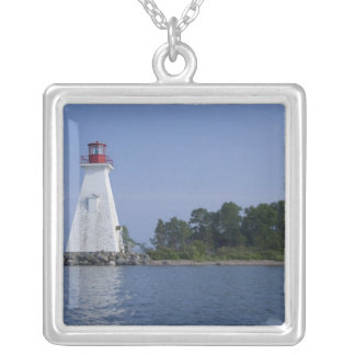 Canada, Nova Scotia, Cape Breton Island, Silver Plated Necklace