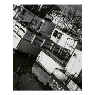 Canada, Nova Scotia, Digby. Fishing boats Poster