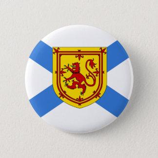 Canada Nova Scotia Flag 6 Cm Round Badge