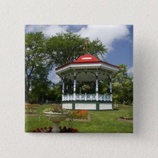 Canada, Nova Scotia, Halifax, Public Gardens. 2 15 Cm Square Badge