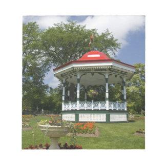 Canada, Nova Scotia, Halifax, Public Gardens. 2 Notepad