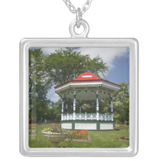 Canada, Nova Scotia, Halifax, Public Gardens. 2 Silver Plated Necklace