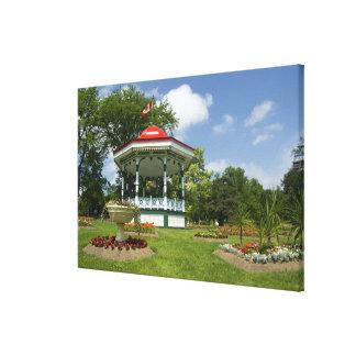 Canada, Nova Scotia, Halifax, Public Gardens. Canvas Print