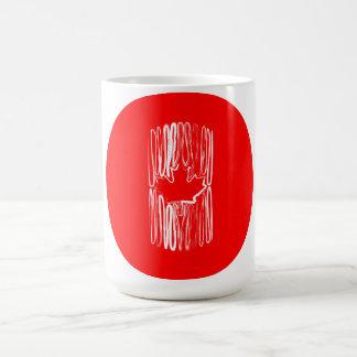 Canada on Red Circle Mug