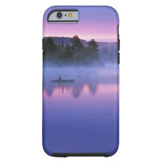 Canada, Ontario, Algonguin Park, Canoeist on Tough iPhone 6 Case