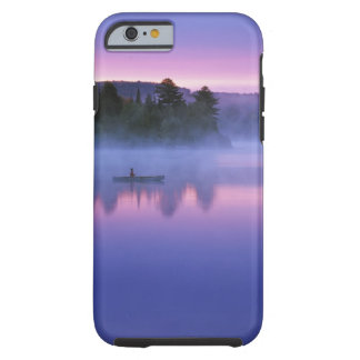 Canada, Ontario, Algonguin Park, Canoeist on Tough iPhone 6 Case