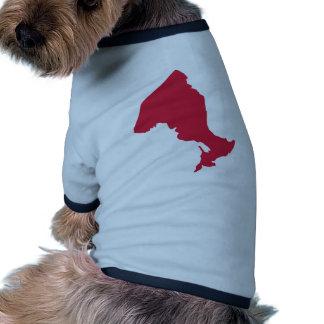 Canada - Ontario Dog Tee