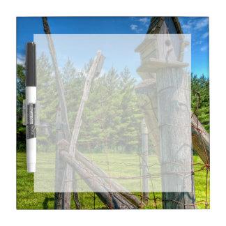 Canada, Ontario, Erin, bird house Dry-Erase Board