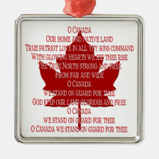 Canada Ornament Souvenirs & Canada Anthem Gifts