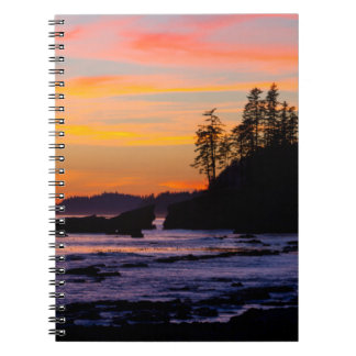 Canada, Pacific Rim National Park Reserve, West Spiral Notebook