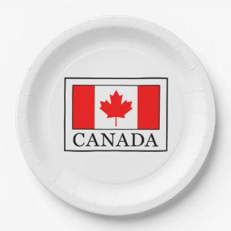 Canada Paper Plate