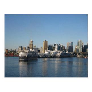 Canada Place, Vancouver BC Postcard