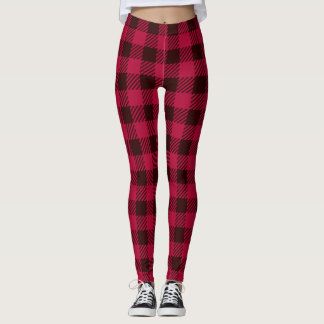 Canada Plaid leggings