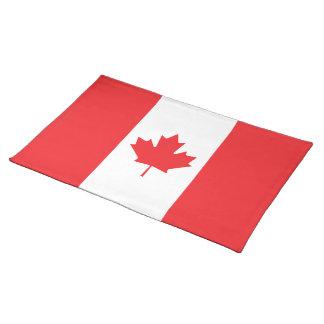 Canada Plain Flag Placemat