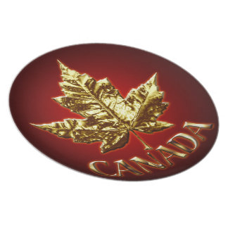 Canada Plates Canada Gold Medal Plates - Cutomize