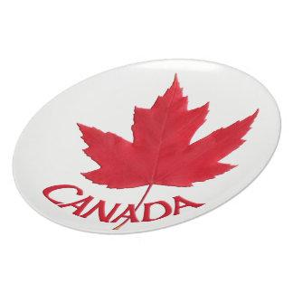 Canada Plates Canada Maple Leaf Plates - Customize