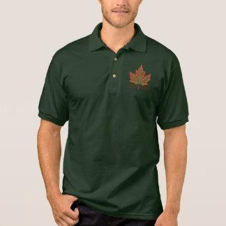 Canada Polo Shirt Custom Canada Maple Leaf Shirts