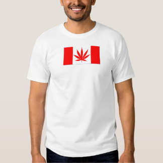 Canada Pot Leaf - Route420 Tee Shirt
