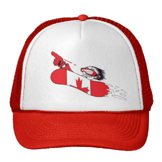 Canada Proud Snow Boarder 2 Hats