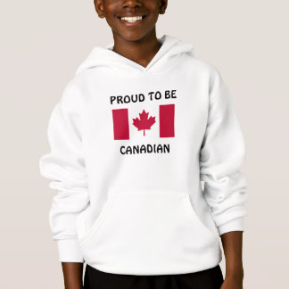 Canada: Proud to be Canadian hoodie