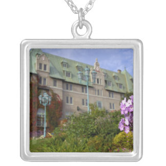 Canada,  Quebec. Charlevoix region, 2 Silver Plated Necklace