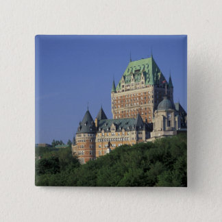 Canada, Quebec City.  Chateau Frontenac. 15 Cm Square Badge
