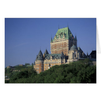 Canada, Quebec City.  Chateau Frontenac. Card